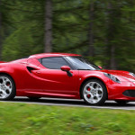 The 4C will be sure to turn heads when it arrives in 2014. (Photo: Alfa Romeo)