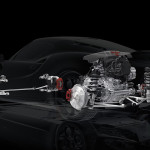 The 4C will be powered by a transverse, mid-mounted,  all-aluminum 1.7-liter, turbocharged, direct injected inline-four that produces 237 hp and 258 lb-ft of torque. (Photo: Alfa Romeo)