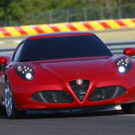 With a feather light weight and a powerful Turbo charged mid engine the Alfa should be a force on the track. (Photo: Alfa Romeo)