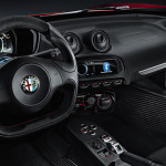 Drivers will be anxious to get their hands around the Alfa's flat bottom steering wheel. (Photo: Alfa Romeo)