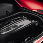 The rear trunks allows space for a small suitcase. (Photo: Alfa Romeo)