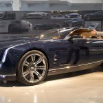 Visit the Cadillac booth to see the Cadillac Elmiraj concept car. (Photo: Cadillac)
