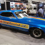 Also on display was Mickey Thompson's 1970 Funny Car. (Ralph Sheheen Photo)