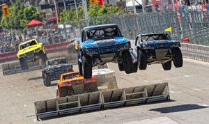 The Super Trucks will run a total of 15 rounds for the second season of the highly competitive and high-flying race series.