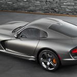 The Chrysler Group's SRT will show off an exclusive, limited-run Anodized Carbon Special Edition package for the SRT Viper GTS model. (Photo: Chrysler)