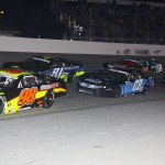 The field early during the Snowflake 100 Saturday at Five Flags Speedway. (Chris Owens Photo)