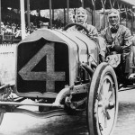 Johnny Aitken during the 1911 Indy 500 On May 30, 1911. (IMS Photo)