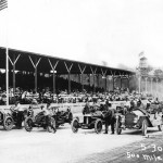 The starting lineup of the 1911 Indy 500 On May 30, 1911. (IMS Photo)