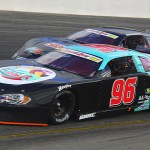 Ben Kennedy (96) works under Hunter Robbins during the Snowball Derby on Sunday. (Chris Owens Photo)