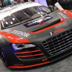 An Audi R8 from the newly formed TUDOR United SportsCar Championship which kicks off in 2014. (Photo: Adam Fenwick)