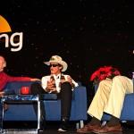 Ken Shrader, Richard Petty and Dave Despain at the 2013 PRI show in Indianapolis. (Joe Secka / JMS ProPhoto)
