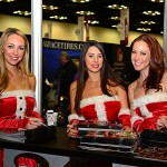 Santas helpers at the 2013 PRI show in Indianapolis. (Joe Secka / JMS ProPhoto)