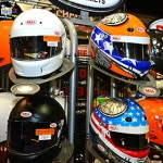 Bell Helmets on display the the 2013 Performance Racing Industry Show in Indianapolis. (Photo: Joe Secka / JMS ProPhoto)
