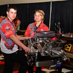 Hot Rodder's Challenge engine builders contestants at the 2013 PRI show in Indianapolis. (Joe Secka / JMS ProPhoto)