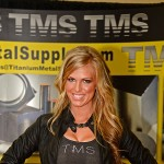The TMS Metal Supply booth at the 2013 PRI show in Indianapolis. (Joe Secka / JMS ProPhoto)