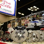 Ultra Lites Brakes Components on display the the 2013 Performance Racing Industry Show in Indianapolis. (Photo: Joe Secka / JMS ProPhoto)