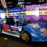"""The #2 Team AES Racing/Barry Wright of Gaffney, SC's """"RAMBO"""" of Dennis Franklin on display the the 2013 PRI Show in Indianapolis.  (Photo: Joe Secka / JMS ProPhoto)"""