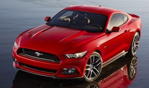 The all-new Ford Mustang.