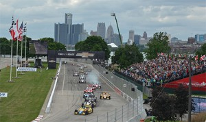 The 2014 Chevrolet Detroit Belle Isle Grand Prix will take place May 30-June 1, 2014. (IndyCar Photo)