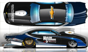The 2013 Chevrolet Camaro piloted by Mike Edwards last season has been purchased by Chris McGaha.