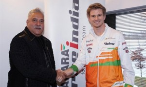 Nico Hulkenberg and Sahara Force India have signed a multi-year agreement. (Photo: Sahara Force India)