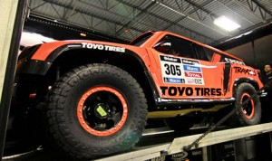 Robby Gordon will drive the SPEED Energy / Toyo Tires HST Gordini in the 2014 Dakar Rally.