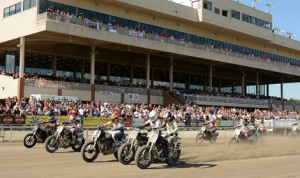Sixteen rounds will make up the 2014 AMA Pro Flat Track schedule. (AMA Pro Racing/Dave Hoenig Photo)