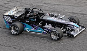 Syrell Racing hired former ISMA Supermodified champion, Mike Lichty, to drive the No. 08 in the 2013 Oswego Speedway Budweiser International Classic. (Paul Murphy Photo)