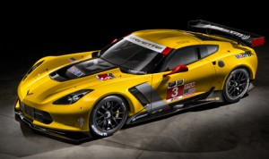 The new Corvette C7.R race car, which was co-developed with the all-new 2015 Corvette Z06.