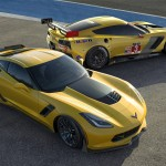 The all-new 2015 Corvette Z06 and 2014 Corvette C7.R race car were co-developed, and represent the closest link in modern times between Corvettes built for racing and the road. (Photo: Chevrolet)