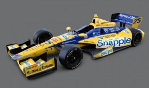 Marco Andretti's No. 25