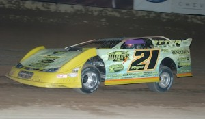 Billy Moyer won Wednesday night's Winter Extreme late model feature at Tucson Int'l Raceway. (Keenan Wright photo)