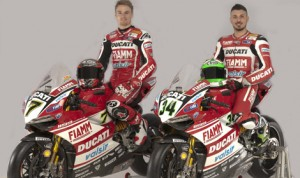 Chaz Davide and Davide Giugliano will race for the Ducati Superbike team in 2014.