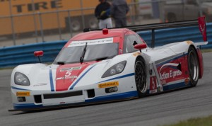 Christian Fittipaldi set the pace on the opening day of the Roar Before the 24 test in the Action Express Racing Corvette DP. (Ted Rossino Jr. Photo)