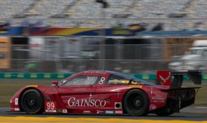 Alex Gurney will start from the pole for the 2014 Rolex 24 driving the No. 99 GAINSCO/Bob Stallings Racing entry. (Ted Rossino Jr. Photo)