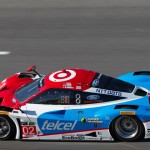 The No. 02 Chip Ganassi Racing Ford EcoBoost entry during the 2014 Rolex 24 at Daytona Int'l Speedway. (Ted Rossino Jr. Photo)