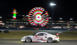 The No. 911 Porsche 911 RSR won the GT Le Mans class in the Rolex 24 At Daytona. (Ted Rossino Jr. photo)
