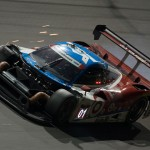 Chip Ganassi Racing's No. 01 Ford Riley DP crashed in the early morning hours of the Rolex 24 at Daytona Int'l Speedway. (Ted Rossino Jr. Photo)