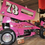 The car of the late Kramer Williamson on display at Motorsports 2014 in Pennsylvania. (Harry Cella Photo)