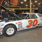 Tigh Scott's Winston Cup car on display during Motorsports 2014. (Harry Cella Photo)
