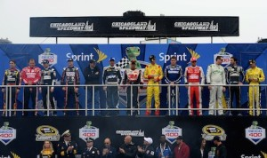 The competitors for the 2013 Chase for the NASCAR Sprint Cup. (NASCAR photo)