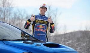 Travis Pastrana returns to the Subaru Rally Team USA for the 2014 Rally America season. (PRNewsFoto/Subaru of America, Inc.)