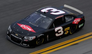 Austin Dillon topped the charts during NASCAR Sprint Cup Series testing Friday at Daytona Int'l Speedway. (NASCAR Photo)