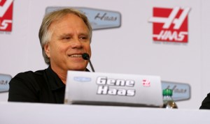Gene Haas, co-owner of Stewart-Haas Racing in the NASCAR Sprint Cup Series, is reportedly considering an entry in the Formula One World Championship in 2015. (NASCAR Photo)