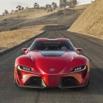The FT-1 design draws heavily on Toyota's long sports car heritage, cars like the 2000GT, Celica, Supra, and FR-S. (Photo: Toyota)