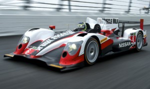 Muscle Milk Pickett Racing's ORECA 03 will be powered by Nissan in 2014. The team has also become part of the Nismo Global Driver Exchange. (Nissan Photo)