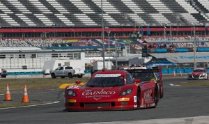 Memo Gidley, driving the Gainsco No. 99, Was involved in a serious crash with Matteo Malucelli on Saturday at Daytona Int'; Speedway. (Photo: Theodore Rossino)