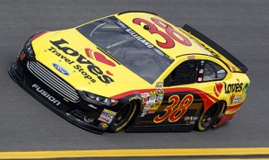 Love's Travel Stops first teamed up with Front Row Motorsports in 2013, sponsoring three races in the company's first venture into NASCAR. (HHP/Brian Lawdermilk)