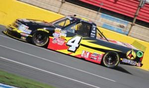 Jeb Burton has lost his NASCAR Camping World Truck Series ride at Turner Scott Motorsports after sponsor Arrowhead departed the team. (Adam Fenwick Photo)