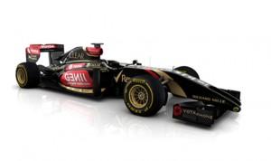 The 2014 Lotus F1 E22 race car. (Photo: Lotus F1)